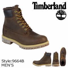 ティンバーランド ブーツ メンズ 6インチ Timberland HERITAGE 6INCH SHEARLING LINED ヘリテージ シャーリング ライン 9664B Wワイズ ダ