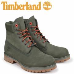 ティンバーランド ブーツ メンズ 6インチ Timberland 6-INCH PREMIUM BOOTS A1QY1 Wワイズ グリーン [2/12 追加入荷]
