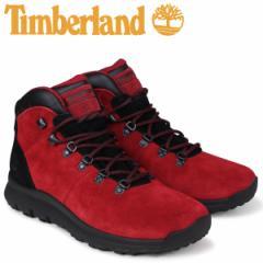 ティンバーランド ブーツ メンズ Timberland WORLD HIKER A1RBE Mワイズ ミディアムレッド [2/12 再入荷]