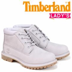 ティンバーランド チャッカ レディース Timberland ブーツ NELLIE CHUKKA DOUBLE A1S7R Wワイズ ライトグレー 8/2 新入荷