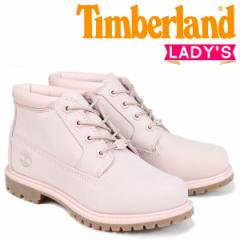 ティンバーランド チャッカ レディース Timberland ブーツ NELLIE CHUKKA DOUBLE A1S7S Wワイズ ライトピンク 8/2 新入荷