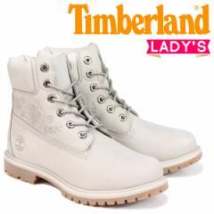 ティンバーランド ブーツ レディース 6インチ Timberland 6-INCH PREMIUM BOOTS A1SXO Wワイズ グレー