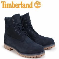 ティンバーランド ブーツ メンズ 6インチ Timberland 6-INCH PREMIUM BOOTS A1TSZ Wワイズ ネイビー