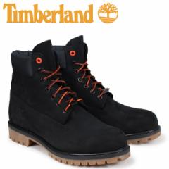 ティンバーランド ブーツ メンズ 6インチ Timberland 6-INCH PREMIUM BOOTS A1U7M Wワイズ ブラック [2/12 追加入荷]