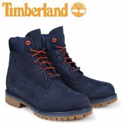 ティンバーランド ブーツ メンズ 6インチ Timberland 6-INCH PREMIUM BOOTS A1U7X Wワイズ ネイビー [2/12 追加入荷]