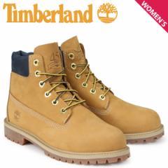 ティンバーランド ブーツ レディース 6インチ Timberland キッズ JUNIOR 6-INCH PREMIUM WATERPROOF BOOTS A1VE5 Wワイズ ウィート