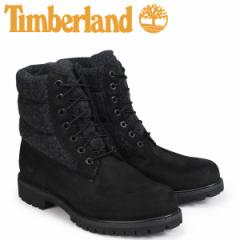 ティンバーランド ブーツ メンズ 6インチ Timberland 6-INCH PREMIUM PUFF BOOTS A1ZR6 Wワイズ ブラック