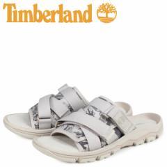 ティンバーランド Timberland サンダル スライドサンダル メンズ ROSLINDALE SLIDE 迷彩 ホワイト A1ZS4 [4/18 新入荷]