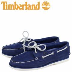 ティンバーランド Timberland クラシック ツーアイ デッキシューズ メンズ CLASSIC 2 EYE Wワイズ ダーク ブルー A1ZTZ [4/13 新入荷]