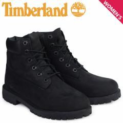 Timberland 6INCH WATERPROOF BOOTS ティンバーランド ブーツ レディース 6インチ プレミアム ウォータープルーフ ブラック 12907