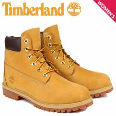 Timberland JUNIOR 6INCH PREMIUM WATERPROOF BOOTS ティンバーランド ブーツ レディース 6インチ プレミアム イエロー 12909