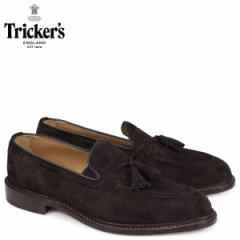 トリッカーズ Trickers ローファー シューズ タッセルローファー ELTON 5ワイズ メンズ ブラウン 8011