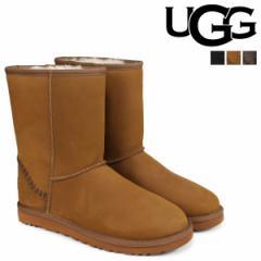 UGG アグ ムートンブーツ メンズ クラシック ショート MENS CLASSIC SHORT DECO 1007307 シープスキン