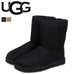 UGG アグ ムートンブーツ メンズ クラシック ショート MENS CLASSIC SHORT 5800 ブラック シープスキン