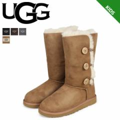 UGG アグ キッズ ベイリーボタン ムートンブーツ KIDS BAILEY BUTTON TRIPLET 1962K シープスキン