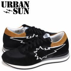 URBAN SUN アーバンサン アレイン スニーカー メンズ ALAIN ブラック