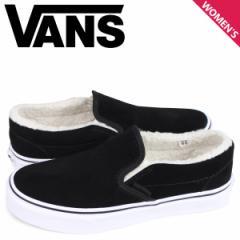 VANS バンズ スリッポン クラシック スニーカー レディース ヴァンズ CLASSIC SLIP-ON ブラック 黒 VN0A33TBNF2 [3/26 新入荷]