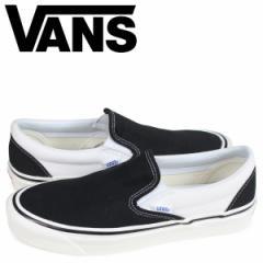 VANS バンズ スリッポン クラシック スニーカー メンズ ヴァンズ CLASSIC SLIP-ON 98 DX ブラック 黒 VN0A3JEXQF61 [3/26 新入荷]