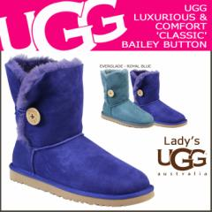UGG アグ ベイリーボタン ムートンブーツ WOMENS BAILEY BUTTON 5803 シープスキン レディース