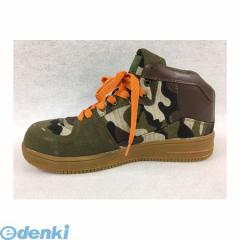 GDJAPAN[4589969284356] DN−291 安全靴 ハイカットスニーカー カモフラ 24.5