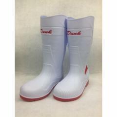 GDJAPAN ジーデージャパン  4589969286428 RBD−818 Dunk PVC安全長靴 ホワイト LL