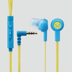 エレコム スマートフォン用ステレオヘッドホンマイク (耳栓タイプ) スマイル1 EHP-CS3520MF1