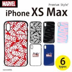 iPhone Xs Max 6.5 インチ 用 ケース カバー 耐衝撃 ハイブリッド タフケース MARVEL マーベル 6デザイン PGA PG-DCS53****