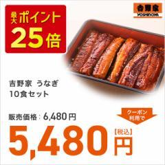 吉野家 うなぎ10食セット