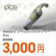 Wet&Dry コードレスハンディクリーナー Pico