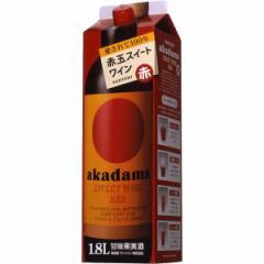 サントリー 赤玉スイートワイン 赤 1800ml パック(単品/1本)