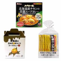【北海道スープカレー】アソート3種セット ソラチ・サッポロウエシマ・ハウス食品
