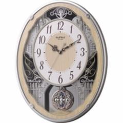 RHYTHM(リズム)【電波掛けからくり時計】 スモールワールドクラッセ 4MN538RH23