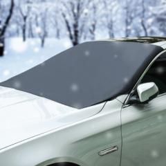 フロントガラスカバー 車用カバー 磁石付 約210cm×約125cm 雪/霜/雨/埃/紫外線などからガード 汎用タイプ 降霜 積雪 凍結対策に MFC2112