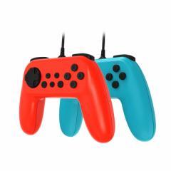 Nintendo Switch対応有線コントローラ USB接続 振動機能搭載 バイブレーション ゲームパッド ゲームコントローラ Joy-conの代わりに TNS1