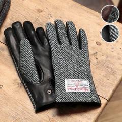 Harris Tweed ハリスツイード メンズグローブ シープスキン 6272(男性用/手袋/紳士用)【無料ラッピング対応可】【S】