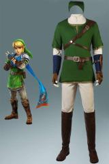 ゼルダの伝説シリーズ トワイライトプリンセス The Legend of Zelda: Twilight Princess 「トワプリ」 リンク コスプレ衣装[4114]