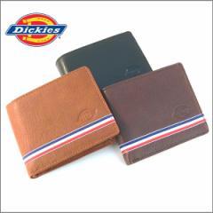 ディッキーズ 財布 Dickies 二つ折り トリコロールライン 札入れ ウォレット メンズ レディース ユニセックス プレゼント(全3色)