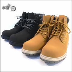 ブーツ メンズ ショート レースアップワークブーツ メンズセッターブーツ バイカーブーツ エンジニアブーツ(全2色) 2足購入送料無料