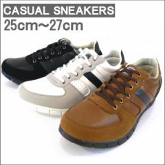 メンズ スニーカー ローカット デッキシューズ カジュアルシューズ メンズ 軽量 フラットシューズ 人気 靴 メンズ(全3色)