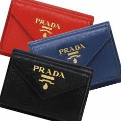 プラダ PRADA 財布 三つ折り財布 1MH021 2EZZ / 2B6P ミニ財布 アウトレット レディース ウォレット 新作