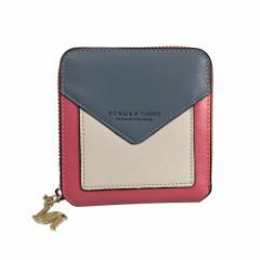 43be948ac663 財布 レディース 短財布 ウォレット 本革 牛革 二つ折り コンパクト 小さめ カード入れ 多い