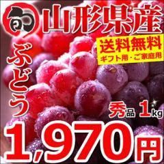 【予約】山形県産 ブドウ デラウェア 1kg(秀品/4房〜8房) ギフト 贈り物 ぶどう ブドウ 葡萄 果物 フルーツ お取り寄せ 送料無料