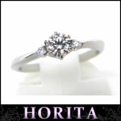 スタージュエリー STARJEWERY ジュエリー プラチナダイヤ立爪指輪 0.319ct F-VS2-3EXトリプルエクセレント(30865)