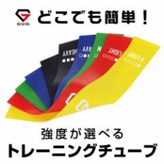 【送料無料】GronG トレーニングチューブ エクササイズバンド フィットネス ループバンド 強度別単品
