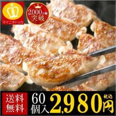 送料無料 冷凍 ぎょうざ お取り寄せ 即日発送 すっぴん餃子 60個入り 訳あり グルメ  大阪