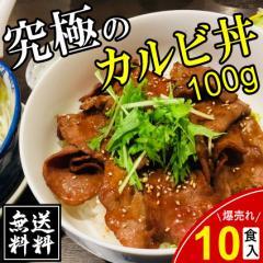 カルビ 送料無料 カルビ丼 10食入り 牛丼 レトルト 訳あり 丼ぶり 業務用 お弁当 冷凍食品
