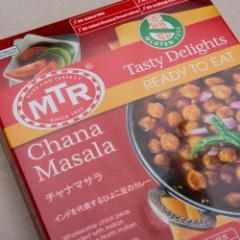 【送料無料】MTR チャナマサラ Chana Masala 300g 1袋【2人前】【レトルトカレー】【豆】【ダール】【インドカレー】 ゆうパケット