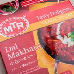 レトルトカレー MTR ダルマカニ Dal Makhani 300g ×10袋  送料無料