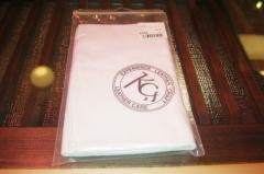 ★KC,s メンテナンスクロス 革の手入れ 白 kkk147