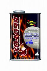 SUNOCO スノコ エンジンオイル REDFOX レッドフォックス COMFORT & STREET 15W-50 1L缶 | 15W50 1L 1リットル オイル 交換 人気 オイル缶